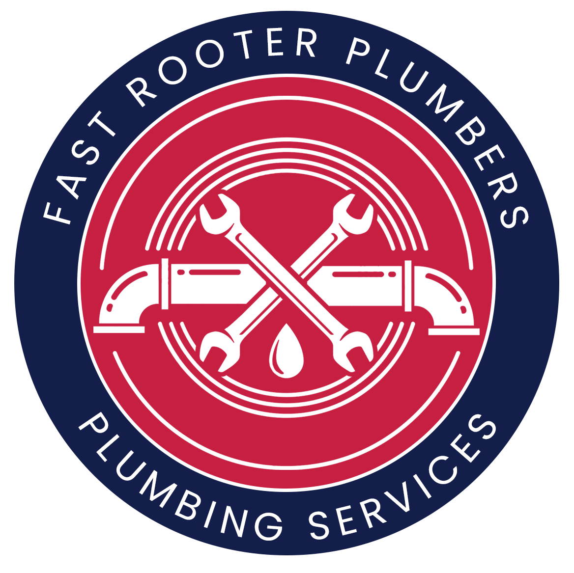 Fast Rooter Plumbers Logo