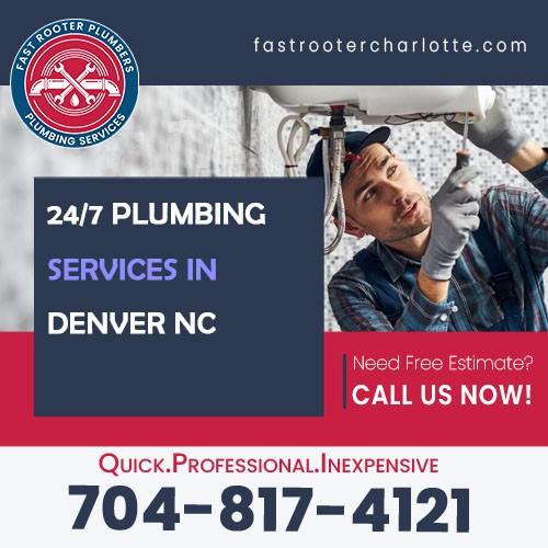 Plumbers Denver NC