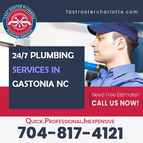 Plumbers Gastonia NC