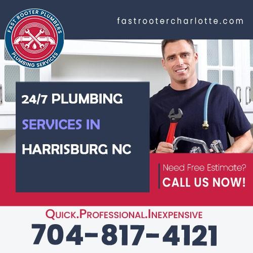 Plumbers Harrisburg NC