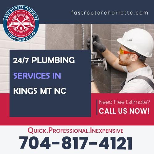 Plumbers Kings Mountain NC